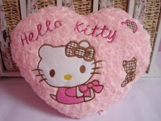 Everything Hello Kitty for you. Different Hello Kitty stuff. Plush Couch, Couch Cushions, Cute Pillows, Throw Pillows, Hello Kitty Collection, Home Decor Accessories, Kawaii Stuff, Sew, Characters