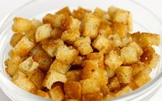 Croutons - How to -Recipe - Online Cooking Classes