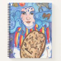 Juksakka Goddess of Midwifery Notebook Winter Fairy, Winter Magic, Star Goddess, Celtic Mythology, Curious Cat, Witch House, Cat Sleeping, Midwifery, Watercolor Rose