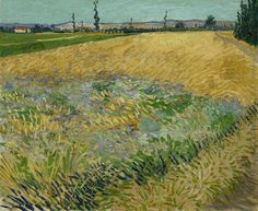 What did Van Gogh find consoling about a wheatfield? Discover what Vincent wanted to express.  Visit the new presentation of our permanent collection now. http://www.vangoghmuseum.nl/en/whats-on/step-into-van-goghs-world  #VanGoghEngagesYou  Image: Vincent van Gogh (1853 – 1890), Wheatfield, 1888, Van Gogh Museum, Amsterdam (Vincent van Gogh Foundation) http://www.vangoghmuseum.nl/en/collection/s0146V1962