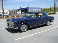 1968 Bentley T1 Drophead Coupe Mulliner Park Ward
