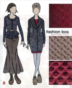 Fashion Box Women's Knitwear - A/W 14/15 - Womenswear - Styling ...