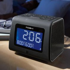 Moshi™ Voice-Activated Digital AM/FM Clock Radio