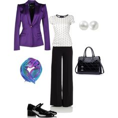 """Violet"" by ladymilla on Polyvore"
