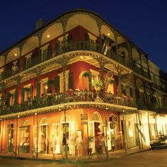 French Quarter, New Orleans, Louisiana. Beautiful architecture and delicious food. Oh The Places You'll Go, Great Places, Places To Travel, Beautiful Places, Places To Visit, Travel Destinations, New Orleans Tourist Attractions, Dream Vacations, Vacation Spots
