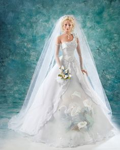 Yours for Eternity Wings of Love Bride Lena Liu, 2005, Cindy McClure for Ashton-Drake
