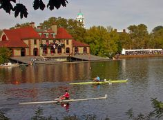 Head of the Charles in Boston, Massachusetts.  I love this city for events just like this.
