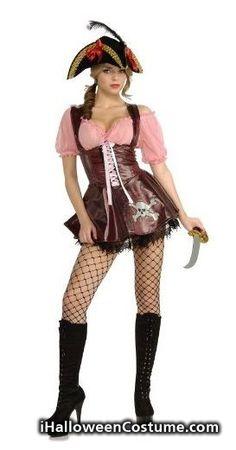 Rubie's Costume Sea Goddess Naughty Pirate Costume - Halloween Costumes 2013