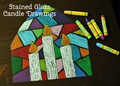 When I was teaching elementary school, these stained glass candle drawings were a project I used to do with my class every winter. Nothing calms a room like some zen coloring time! If your kiddo hasn't made something like this... Continue Reading →
