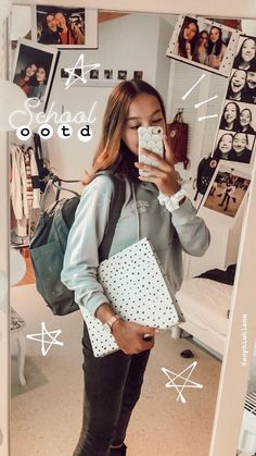 Outfit Inspiration School Outfit ootd VSCO Room Ideas inspiration ootd outfit School Source by school outfits Instagram Outfits, Creative Instagram Stories, Instagram Story Ideas, Instagram Pose, Mode Outfits, Stylish Outfits, Swag Outfits, Daniel Wellington, Fun First Dates