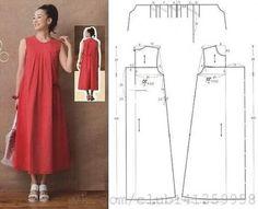 Sewing Dress, Dress Sewing Patterns, Sewing Patterns Free, Free Sewing, Sewing Clothes, Clothing Patterns, Diy Clothes, Fashion Sewing, Diy Fashion