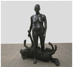 "bronze; 67-1/4"" x 62"" x 26-1/4""  Edition of 3 + 1 AP; 2001, © Kiki Smith, courtesy Pace Gallery / Photo by: Richard-Max Tremblay"