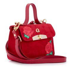 Bolsa Red Flowers Bordada
