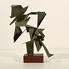 Sidney Gordin (1918-1996) - American Constructivist Sculptor & Painter