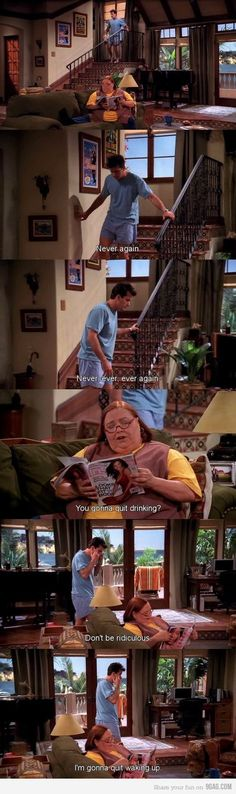 Oh I miss Charlie on two and a half men.