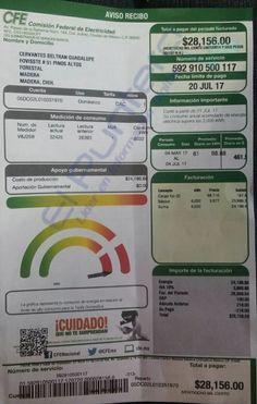 Otra más de la CFE en Madera: Recibo de $28 mil a usuaria de colonia humilde, le cortan servicio y luego reconocen el error; Madera Unidos clama contra abusos | El Puntero