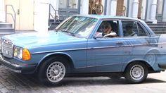 lady gagas vintage mercedes w123 300D