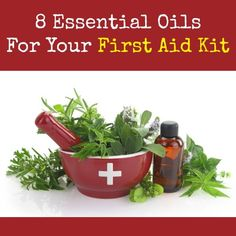 Here are eight oils for your first aid kit that are tried and true.  Most are modestly priced and useful for a myriad of first aid woes. via @survivalwoman