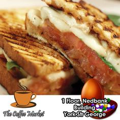 The Coffee Market in George is the place to sit, relax and enjoy freshly prepared light meals during the day. Try our range of toasted sandwiches served with chips and a smile every time. #coffeeshop #lightmeals #cuisine