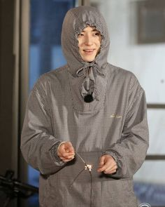 Nu Est Minhyun, Pledis Entertainment, Kpop Groups, Raincoat, The Unit, Jackets, Dresses, Fashion, Rain Jacket
