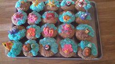 Hawaiian Style Cupcakes