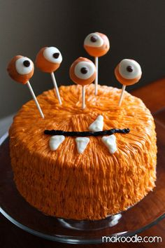 Monster cake - Halloween