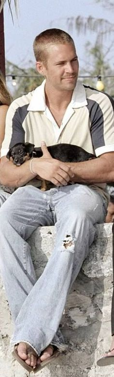 http://www.babyboyeasteroutfits.com/category/walker/ Paul Walker with his puppy…
