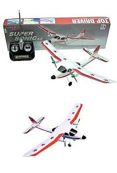 Sonic 158768: 2-Channel Rc Super Sonic Radio Control Airplane -> BUY IT NOW ONLY: $34.66 on eBay!