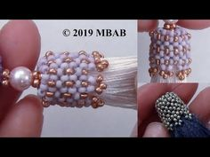 Tassel Tower Beaded Cap Handmade by Mariel Seed Bead Tutorials, Beading Tutorials, Beading Ideas, Beaded Jewelry Designs, Dainty Jewelry, Wire Jewelry, Jewelry Ideas, Jewelry Accessories, Beaded Earrings