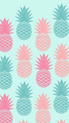 Resultado de imagem para papel de parede de abacaxi tumblr