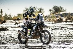 Rockstar Energy Husqvarna Factory Racing Riders Endure Challenging Day At Morocco Rally: Following Pablo Quintanilla's winning result on…