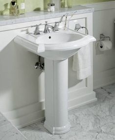 25 best pedestal sinks for small bathrooms images small bathroom rh pinterest com
