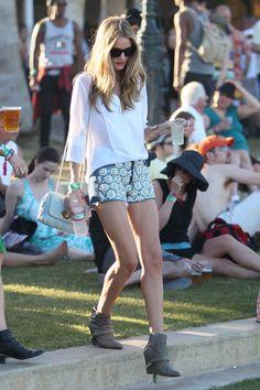 Rosie Huntington Whiteley at Coachella 2012