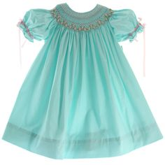 b315d4599 10 Best Infant Toddler Girls Smocked Easter Dresses images