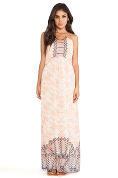 Wish Goddess Maxi Dress in Desert Jewel