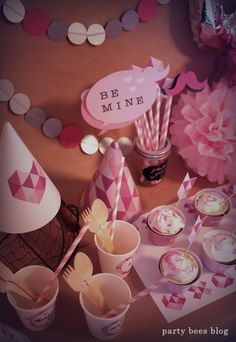 Kid's Valentine Party from party bees♥Party beesのバレンタインキッズパーティ♥