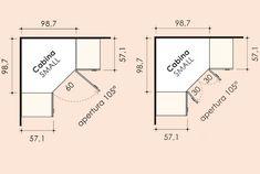 Image result for misure per dispensa ad angolo a tutta altezza