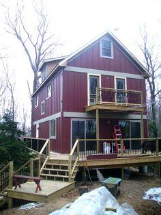 Attirant 20u0027 Wide Universal Cottage Cabin Http://www.countryplans.com/