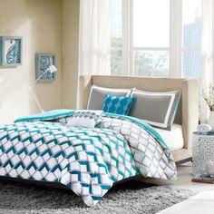 Intelligent Design 'Danika' 4-piece Comforter Set | Overstock™ Shopping - The Best Prices on ID-Intelligent Designs Teen Comforter Sets