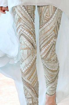 Absolutely amazing pants! #Glitz #Glitter #Sequins #Sparkle