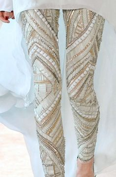 Absolutely amazing pants! #Glitz #Glitter #Sequins #Sparkle
