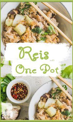 Gebratener REIS mal anders - ONE POT REZEPT - Einfach und schnell kochen  Gebratener Reis ist eins meiner absoluten lieblings - One Pot Gerichte. Wenn man wenig Zeit hat und sich dennoch etwas kreatives und gesundes auf den Tisch zaubern will ist dieses One Pot die ideale Lösung.