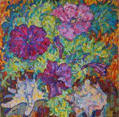 """Saatchi Art Artist Inna Kulagina; Painting, """"The Land and the Sea"""" #art"""