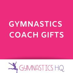 Great ideas for gymnastics coach gifts! Gymnastics Gym, Gymnastics Coaching, Coach Gifts,