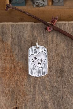 You and Me on a Tree Pendant – Holly Lane