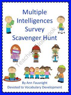 Multiple Intelligences Student Survey