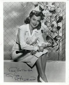 De Havilland, Olivia - Signed Photo