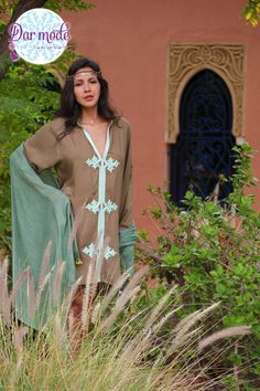 Tunic Hind・Moroccan Blue Palace lookbook