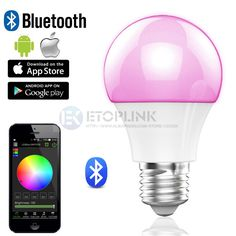 Find More Smart Illumination Information about Magic Blue E27 Bulb Bluetooth 4.0 5730 Smart 16 Million LED RGB Bulb Timing Automatic Light Adjustment Sleeping Decoration Lamp,High Quality lamp rear,China lamp perfume Suppliers, Cheap lamp diffuser from Guangzhou Etoplink Co., Ltd on Aliexpress.com