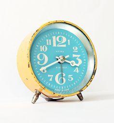Vintage mechanical alarm clock sold by ClockworkUniverse shop